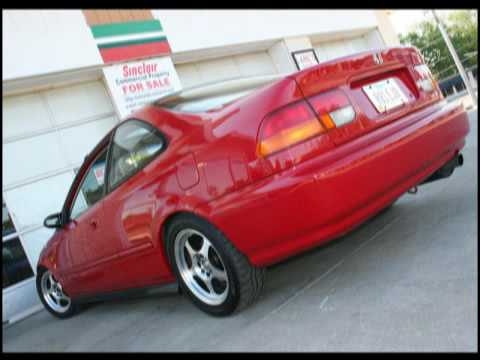Slideshow HONDA CIVIC Coupe and Hatchback 6th gen.