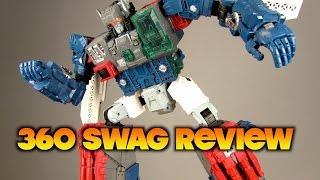 360 Swag Review: Transformers Hasbro Titans Return Fortress Maximus