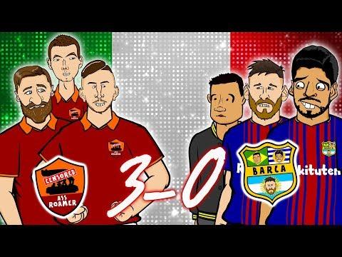Xxx Mp4 😲ROMA 3 0 BARCELONA 😲 The Song Champions League Parody Goals Highlights 2018 3gp Sex