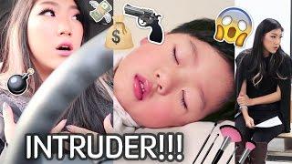 KOREAN TEEN MOM: Stranger Broke Into Our House! 😠💢 Lead a High School Workshop 🏫💄 Galahad Has Flu 😷😢
