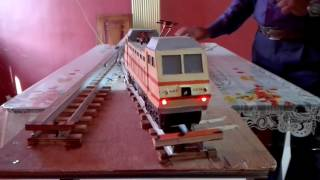 Working project of electric train