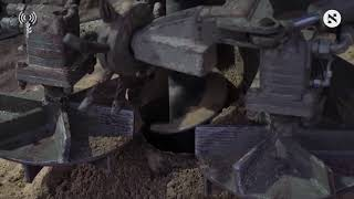 Footage from inside cross-border Hamas tunnel destroyed by Israel