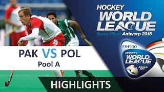 Pakistan v Poland Match Highlights - Antwerp Men