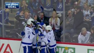 Drouin takes over, gets job done in overtime for Lightning
