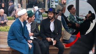 يهودي يسأل الناس لماذا تكرهوننا .. إتورط مع شاب فلسطيني 😱