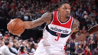 Bradley Beal 51 Points Career High vs Blazers! Wizards vs Blazers 2017-18 Season