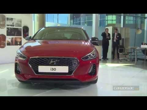 Présentation en avant première Nouvelle Hyundai i30 2017 sérieuse
