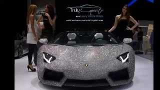 World Exclusive Swarovski Crystal Car Wrap!
