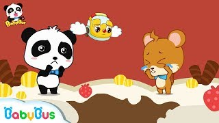Whiskers' Candy Teeth | Kids Good Habits | Picture Book Cartoon for Kids | BabyBus