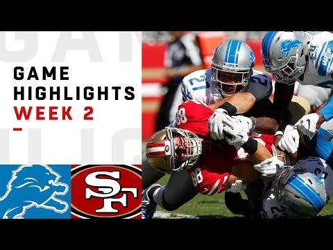 Xxx Mp4 Lions Vs 49ers Week 2 Highlights NFL 2018 3gp Sex