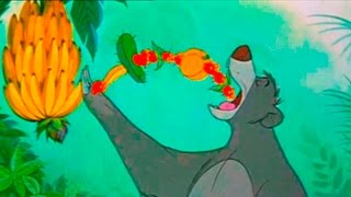 The Jungle Book - Bare Necessities - Baloo and Mowgli Song