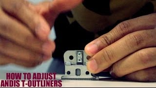 How To Adjust Andis T-Outliner Blade To Cut Sharper! (Cut Your Own Hair)