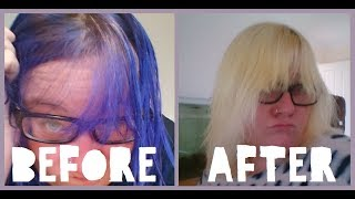 How to safely remove color from hair without damaging it | CheyanneJane
