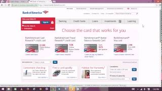BOA Platinum Services - Bank of America Online Banking