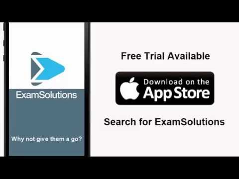 Core Maths, Mechanics and Statistics iOS Apps from ExamSolutions