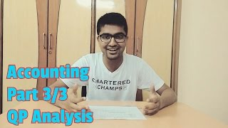 Prepare for 60+ Marks in CA IPCC Accounts | Question Papers Analysis | Nov 17 | Part 3/3