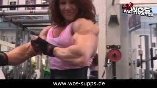 Female Bodybuilding Hardcore Motivation - Hardcore Babes 2014