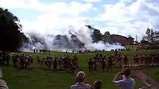 Waterloo 2007 Les combats d'Hougoumont