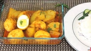 Egg Curry Bangali/Dim bhuna with Potato