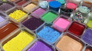 MIXING ALL MY SLIME !! SLIME SMOOTHIE  SATISFYING SLIME VIDEOS ! #20