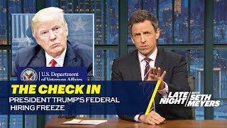 The Check In: President Trump