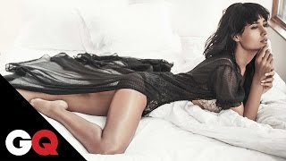 In Bed With Beautiful Rikee Chatterjee | Photoshoot Behind-the-Scenes | GQ India