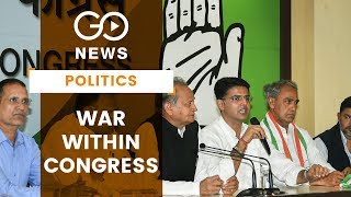 Churn Within Rajasthan Congress