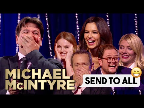 Funniest Celebrity Send To All Replies Michael McIntyre