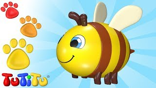 TuTiTu Animals | Animal Toys for Children | Bee and Friends