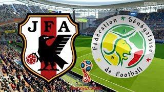 World Cup 2018 - Japan Vs Senegal - 24/06/18 - FIFA 18