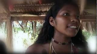 Canto de Concejos a la Niña en el Ritual de la Pubertad, Nazareth Amazonas Colombia