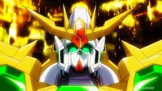 Gundam Build Fighters Try Episode 18 ガンダムビルドファイターズトライ Review - Star Winning Gundam Real Mode