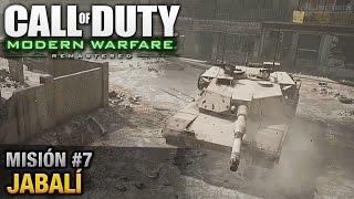 Call of Duty: Modern Warfare Remastered - Misión #7 - Jabalí (Español / Sin Comentario)