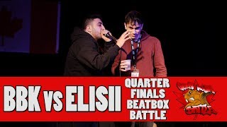 BBK (CAN) vs ELISII (CAN) - GNB 2017 - SOLO BEATBOX QUARTER FINALS