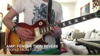 KEMPER Yes - Long Distance Runaround (cover) FENDER TWIN Profile (TopJimi)