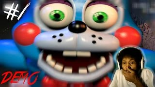 WARNING: NIGHTMARE FUEL | Five Nights At Freddy's 2 - Night One COMPLETE