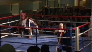 Oxford vs. Cambridge Varsity Boxing 2010 - Ben Morris vs. Tom Burlton