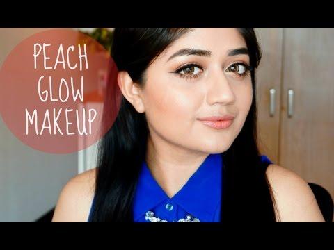 Peach Glow Makeup Tutorial | corallista