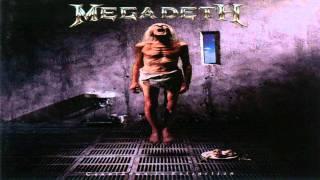 Megadeth -  Sweating Bullets [Guitar Backing Track]