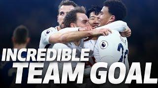 INCREDIBLE TEAM GOAL | Spurs 4-0 Everton