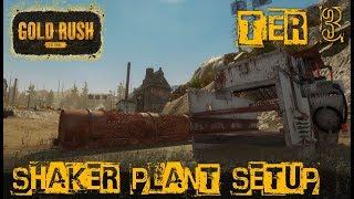 SHAKER PLANT SETUP | TIER 3 MINING | GOLD RUSH: THE GAME