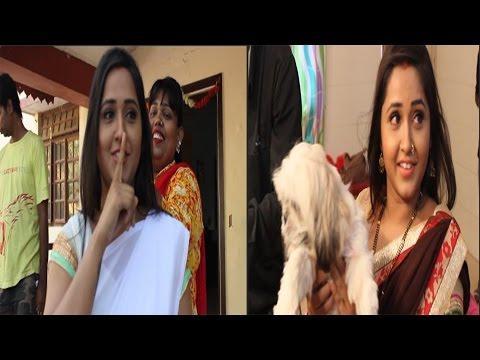 Xxx Mp4 देखिये चीर हरण शूटिंग में काजल राघवानी की मस्ती Kajal Raghwani Cheer Haran 3gp Sex