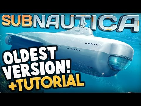 Subnautica - VERY FIRST SUBNAUTICA BUILD! + Download Tutorial - Subnautica Early Access Gameplay