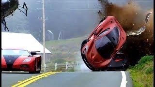 SUPERCAR CRASH FAILS #1 - Crashes and Fails - Crash Comps