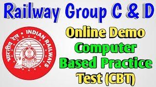 Railway Group D & C Demo Online CBT Test Set | Full Demo Tutorial of RRB Online Computer Based Test