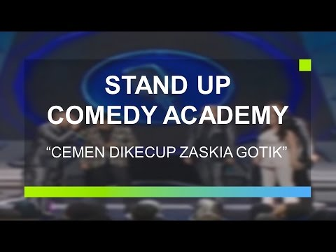 Cemen Sujud Usai Dikecup Zaskia Gotik Stand Up Comedy Academy Grand Final