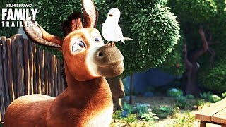 THE STAR | Steven Yeun is Bo The Donkey in the animated christmas movie