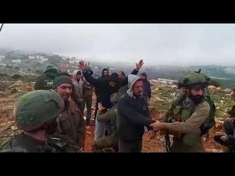 תיעוד: מעצר ערבים שתקפו את רבש