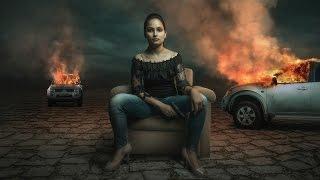Photoshop Manipulation Tutorial | Car Fire Fantasy Effect