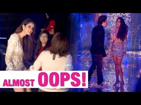 Xxx Mp4 Tiger Shroff Saves Girlfriend Disha Patani From An Embarrassing Moment At LFW 17 3gp Sex